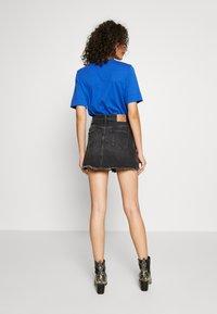 Pepe Jeans - RACHEL SKIRT - Spódnica jeansowa - black denim - 2