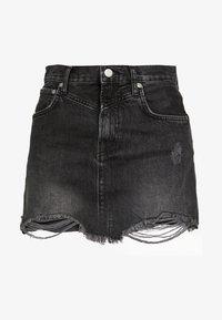 Pepe Jeans - RACHEL SKIRT - Spódnica jeansowa - black denim - 3