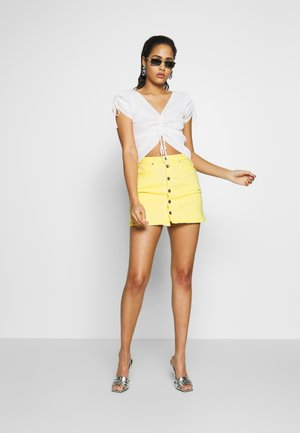 DUA LIPA x PEPE JEANS - Pencil skirt - twist