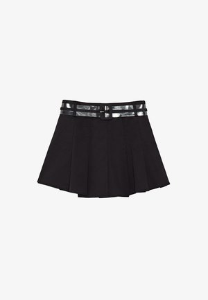 DUA LIPA X PEPE JEANS  - Spódnica plisowana - black