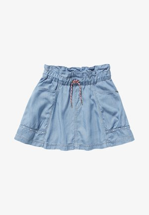 YADI - A-line skirt - blue denim