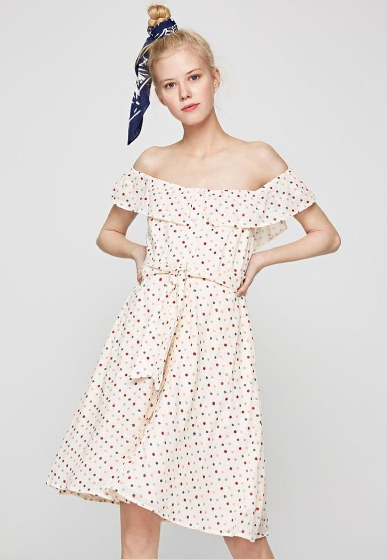 Pepe Jeans - RINA - Day dress - off-white