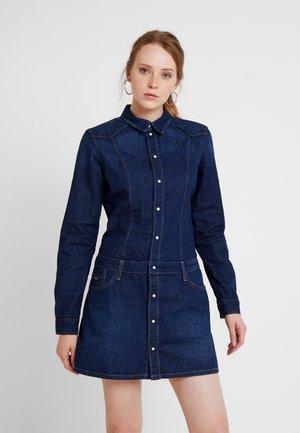 SUSANNA - Denim dress - blue denim