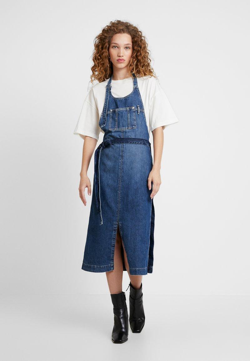 Pepe Jeans - DUA LIPA X PEPE JEANS - Jeanskleid - blue denim
