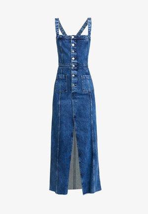DUA LIPA X PEPE JEANS - Denim dress - blue denim