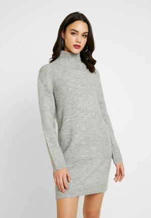 WUCHER - Gebreide jurk - light grey