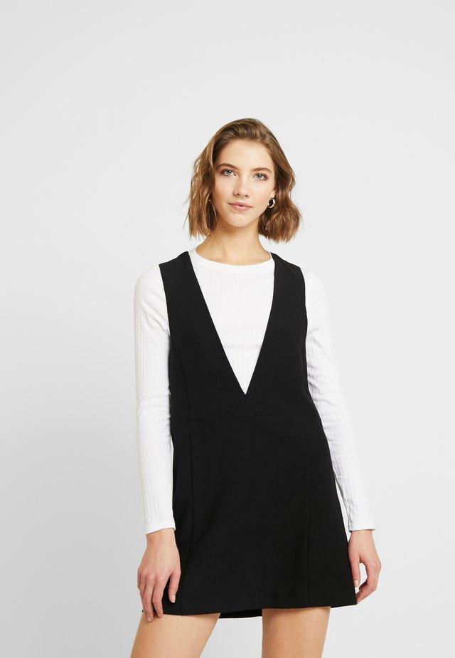 VIVI - Korte jurk - black