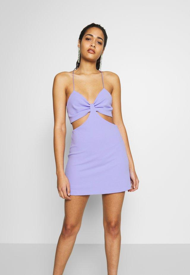 DUA LIPA x PEPE JEANS - Cocktail dress / Party dress - violet
