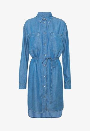 LUSH DRESS - Robe en jean - blue denim