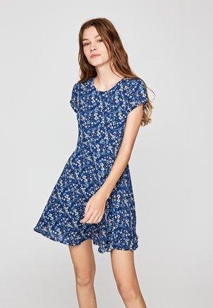 CRIS - Korte jurk - blue