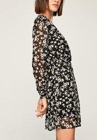 Pepe Jeans - MAGDA - Korte jurk - black/white - 3