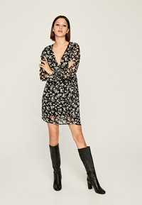 Pepe Jeans - MAGDA - Korte jurk - black/white - 1