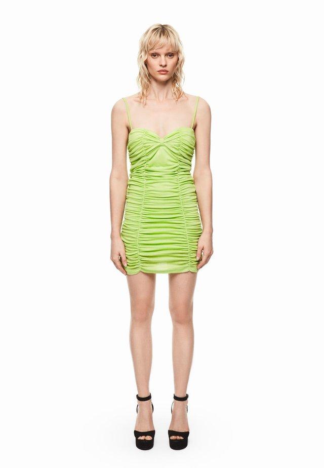 DUA LIPA X PEPE JEANS  - Vestido de cóctel - green