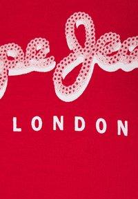Pepe Jeans - MIRANDA - T-shirt z nadrukiem - red - 2