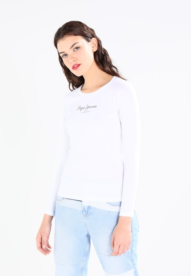 Pepe Jeans - NEW VIRGINIA  - Long sleeved top - white
