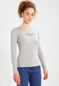 Pepe Jeans - NEW VIRGINIA  - Long sleeved top - grey marl - 0