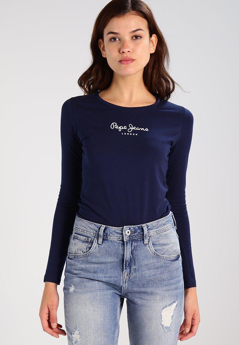 Pepe Jeans - NEW VIRGINIA  - Bluzka z długim rękawem - navy