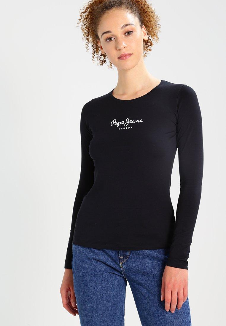 Pepe Jeans - NEW VIRGINIA  - Bluzka z długim rękawem - black
