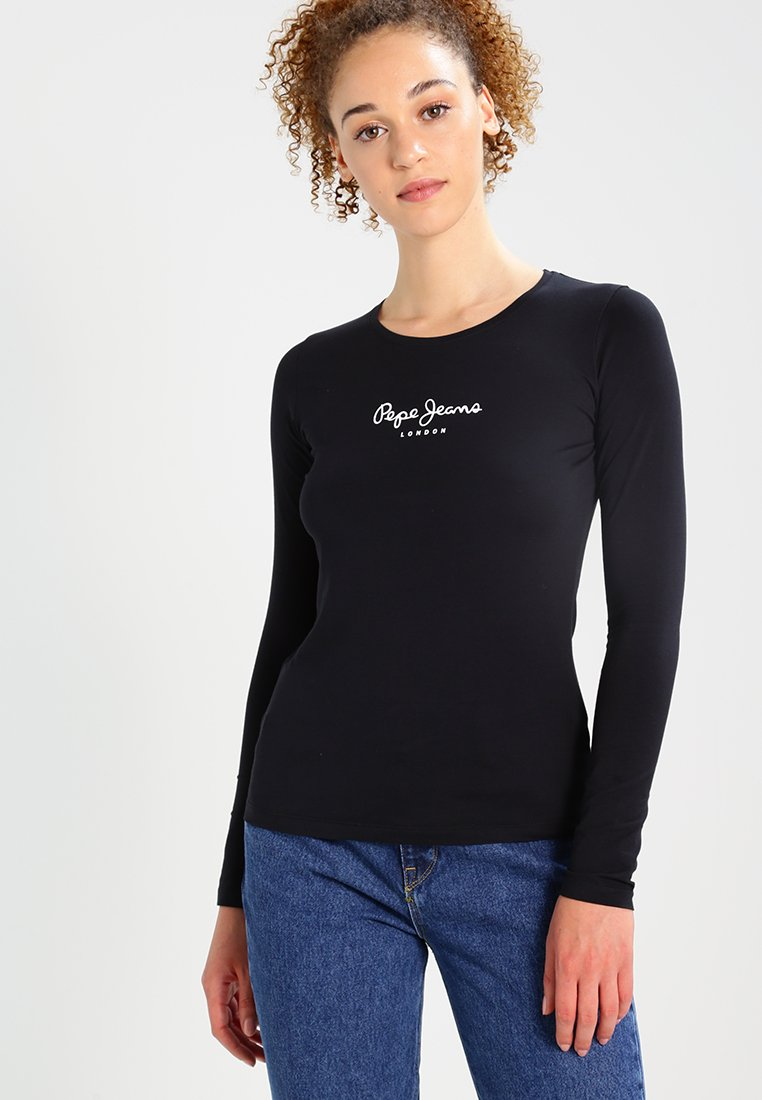 Pepe Jeans - NEW VIRGINIA  - Maglietta a manica lunga - black
