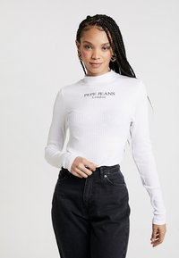 Pepe Jeans - MEGAN - Long sleeved top - off white - 0