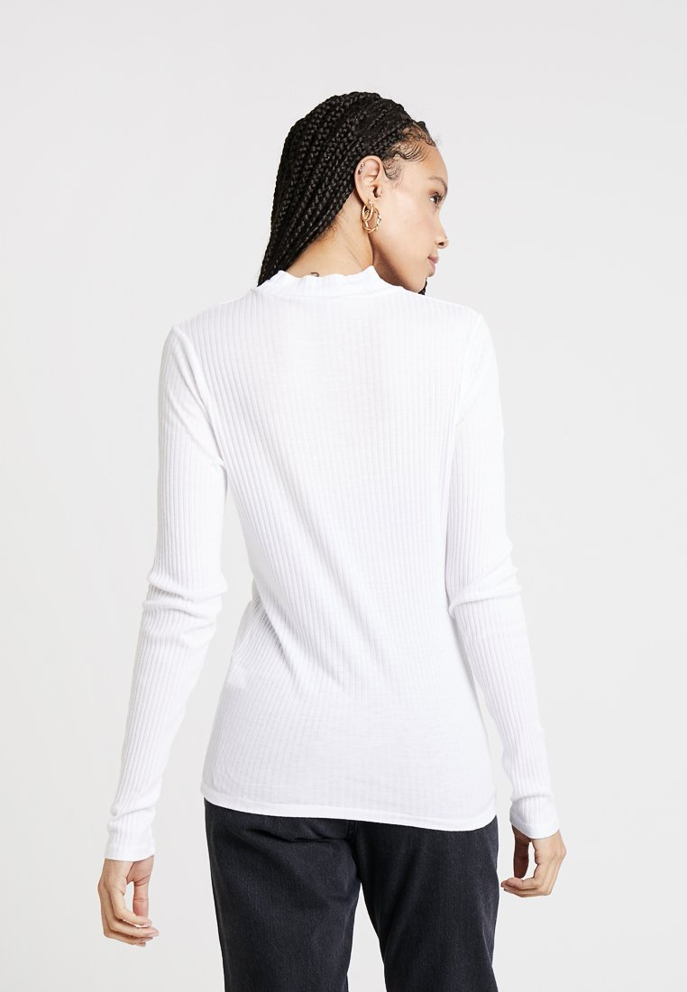 MeganT Manches Pepe White Longues Jeans Off shirt À eD9EbIW2YH