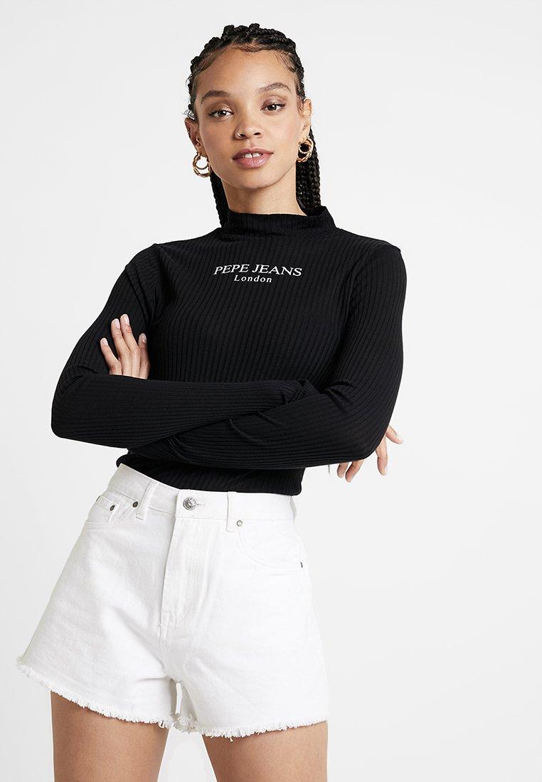 Pepe Jeans - MEGAN - Long sleeved top - black