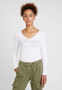 Pepe Jeans - ANDY - Camiseta de manga larga - optic white - 0
