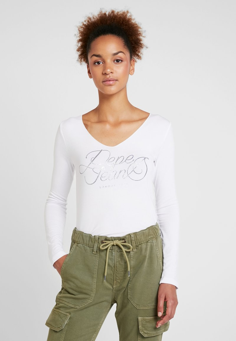 Pepe Jeans - ANDY - Camiseta de manga larga - optic white