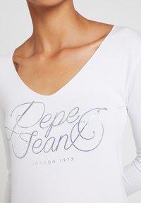 Pepe Jeans - ANDY - Camiseta de manga larga - optic white - 4
