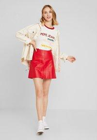 Pepe Jeans - AURORA - Camiseta estampada - oyster - 1