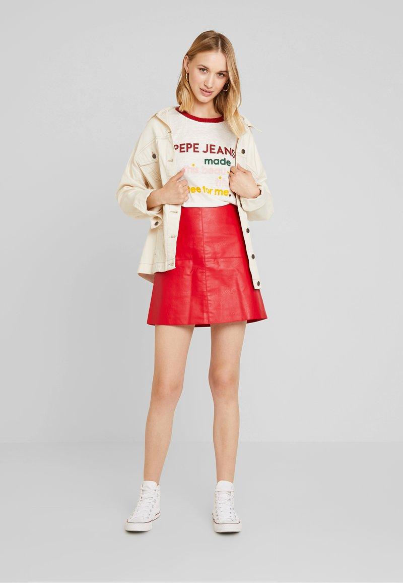 Pepe Jeans - AURORA - Camiseta estampada - oyster