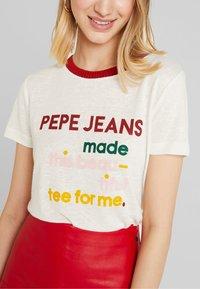Pepe Jeans - AURORA - Camiseta estampada - oyster - 5