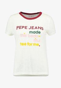 Pepe Jeans - AURORA - Camiseta estampada - oyster - 4