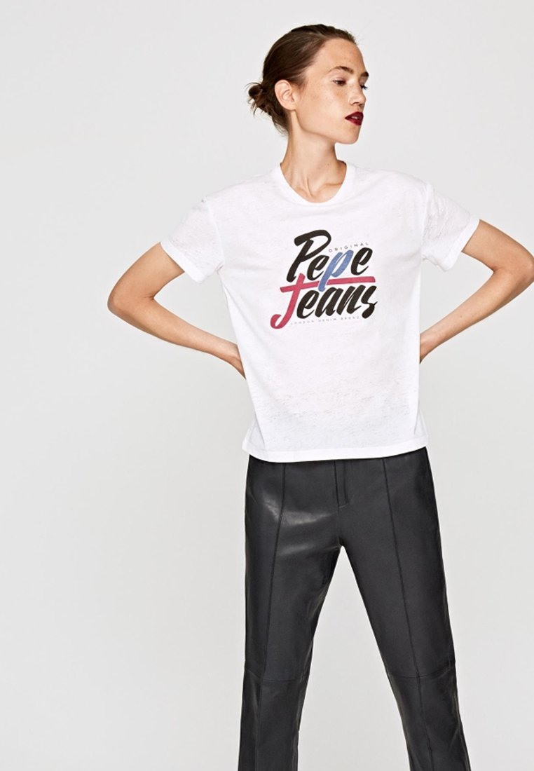 Pepe Jeans - MICHELLE - T-shirt print - offwhite