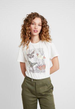 MARIBEL - Print T-shirt - mousse