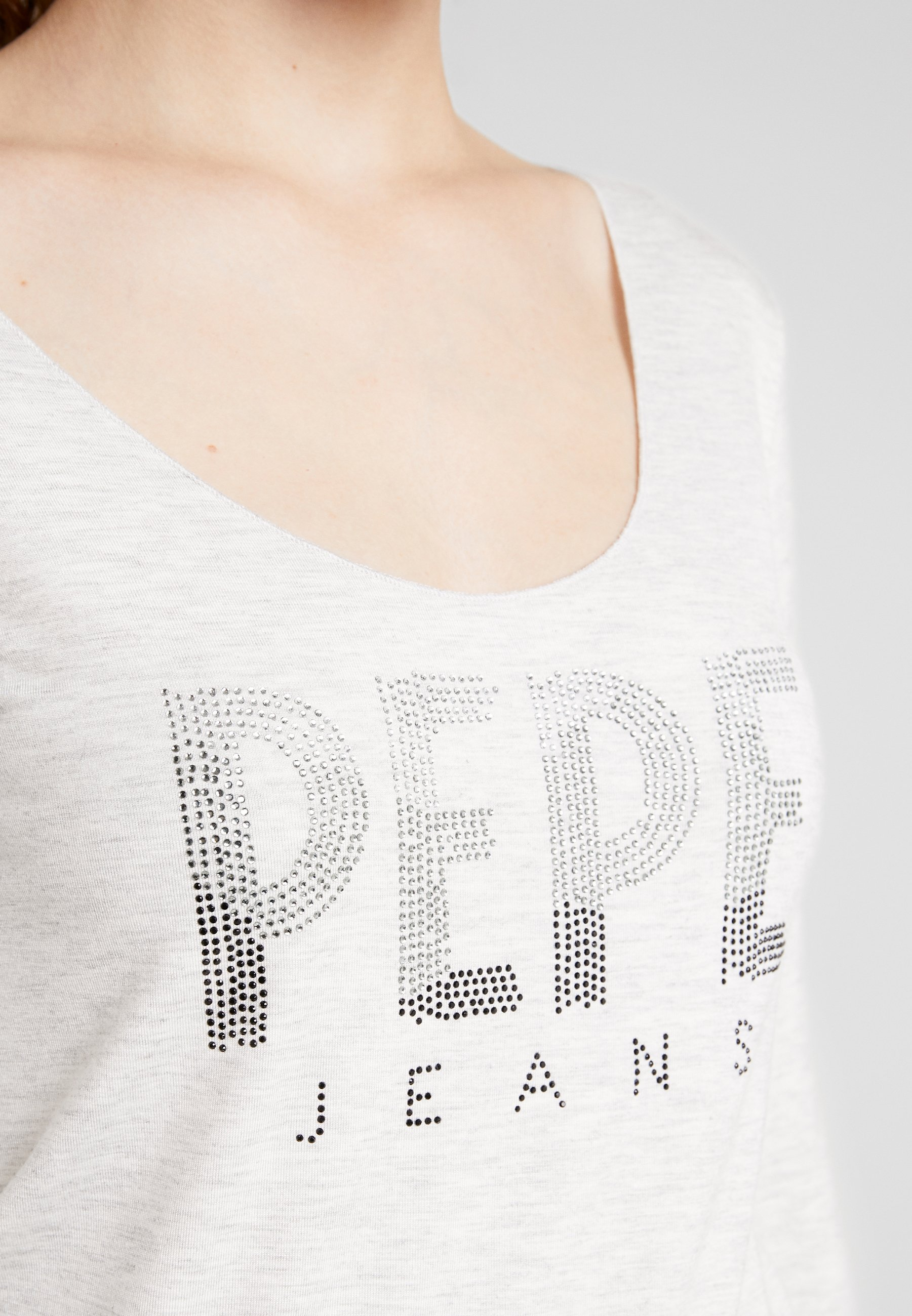 Pepe Jeans CALISSA - Topper langermet - grey