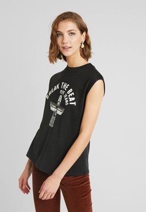 CARLY - Print T-shirt - black