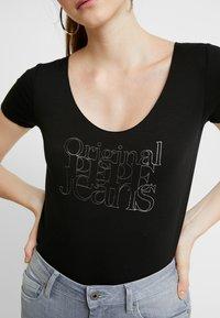 Pepe Jeans - CAIRO - T-Shirt print - black - 4