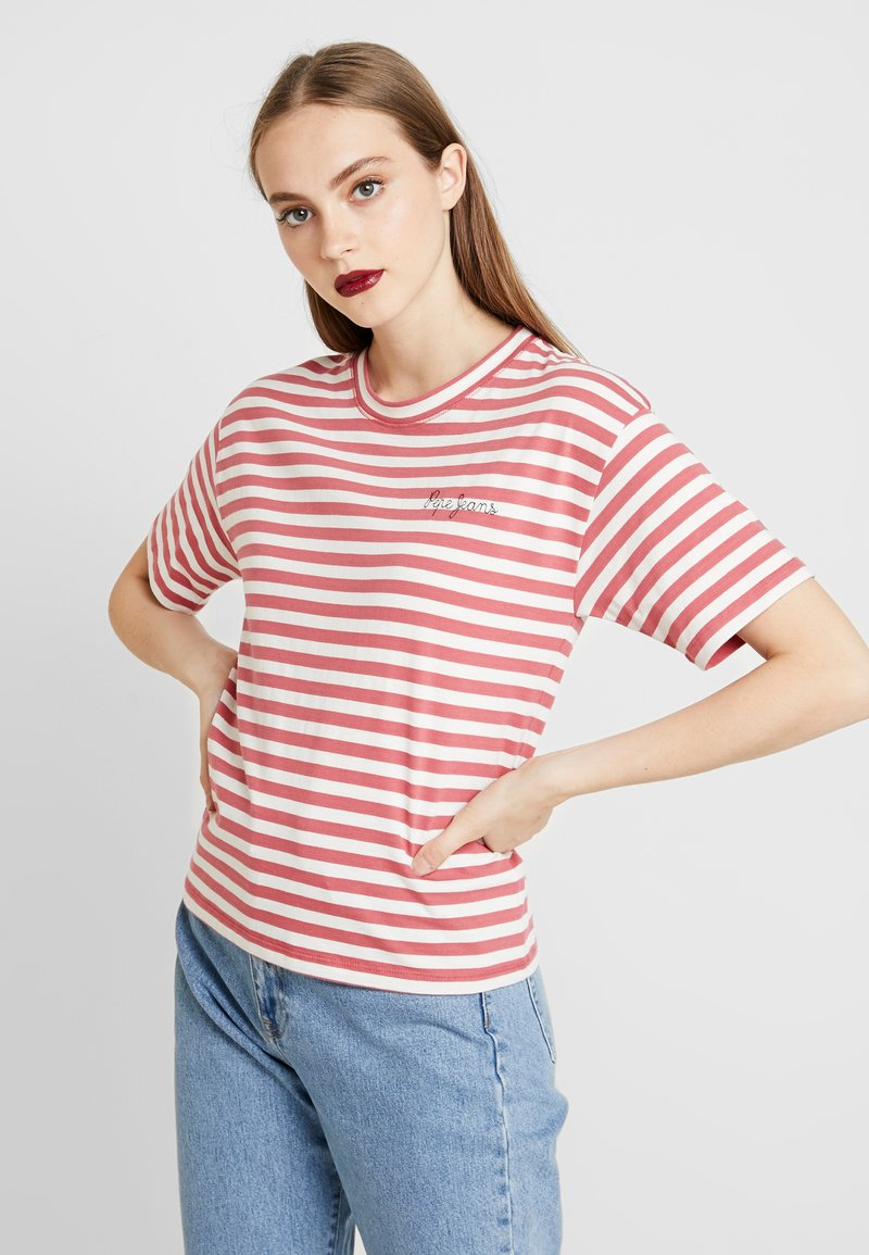 Pepe Jeans - CLAIRE - T-shirt print - red dahlia