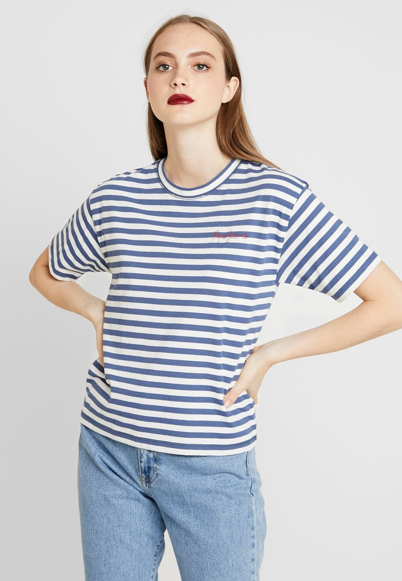 Pepe Jeans - CLAIRE - T-shirt print - chatham blue