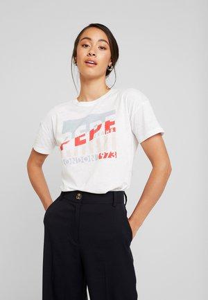 CAMEO - Camiseta estampada - optic white