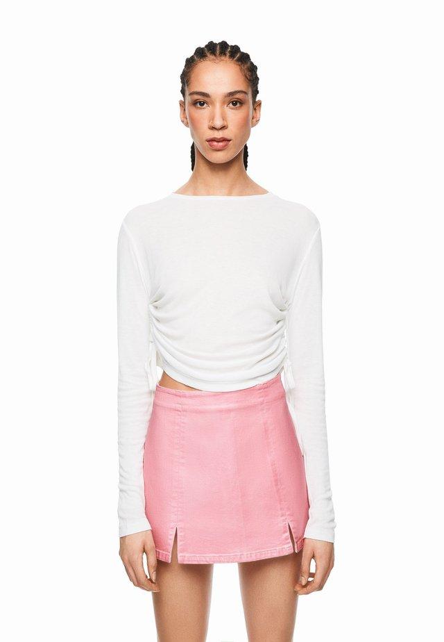 DUA LIPA X PEPE JEANS  - Bluzka z długim rękawem - off-white