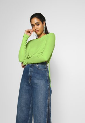 DUA LIPA X PEPE JEANS  - Long sleeved top - lime