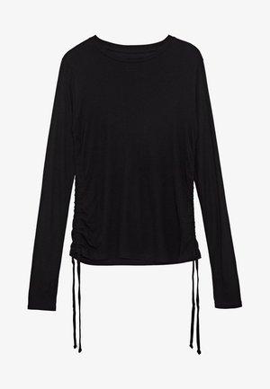 DUA LIPA X PEPE JEANS  - Long sleeved top - black