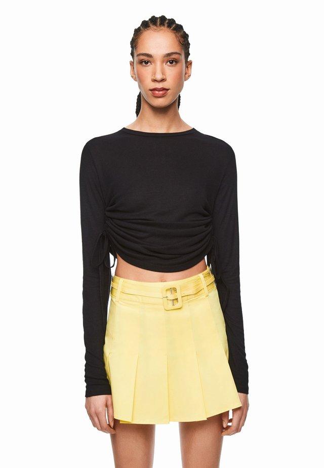 DUA LIPA X PEPE JEANS  - Bluzka z długim rękawem - black