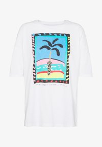 Pepe Jeans - LALI - Print T-shirt - optic white