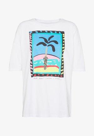 LALI - T-shirt print - optic white