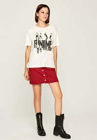 Pepe Jeans - Print T-shirt - off-white - 1