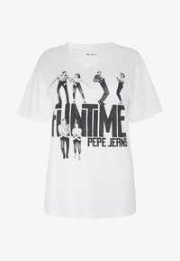 Pepe Jeans - Print T-shirt - off-white - 5