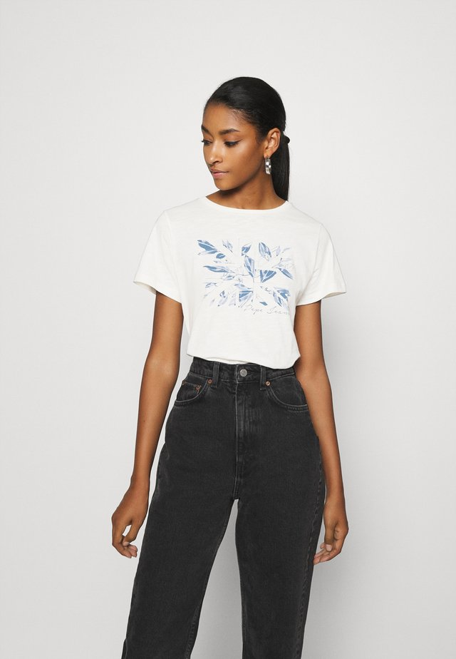 ADRIANA - Print T-shirt - mousse